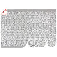 Buy cheap Sri Lanka Guipure Venice Polyester Lace Trims With Embroidered Floral Pattern from wholesalers