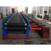 Buy cheap Double Layer Metal Corrugated Sheet Making Machine For Drain Pipe from wholesalers