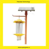 Buy cheap New Technology Eco Friendly Moths Killer Pests killer Solar Flies Killer Lamp from wholesalers
