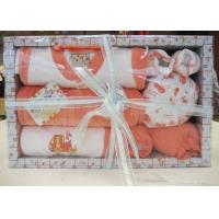 Buy cheap All Cotton New Born Baby Christening Gift Sets with Baby Wear and Socks  from wholesalers