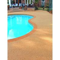 Buy cheap EPDM Pool Rubber Flooring , Outdoor Rubber Surfacing For Pools And Patios from wholesalers