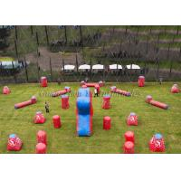 Buy cheap Crazy Game Millennium Field Inflatable Paintball Bunkers For Advertising from wholesalers