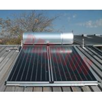 Buy cheap Pressurized Flat Plate Solar Water Heater Rooftop Intelligent Controller High Efficient from wholesalers