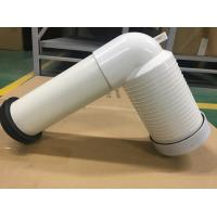Wholesale PVC Toilet Drain Pipe With Connector , Wc Waste Pipe Large Displacement from china suppliers