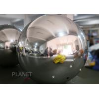 Buy cheap Shopping Mall Inflatable PVC Mirror Ball Ornaments 1m  Or Customized Size from wholesalers