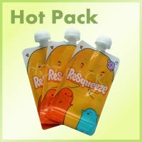 Reusable Baby Food Stand Up Pouch With Spout For Fruit Juice Food Grade Manufactures