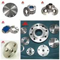 Wholesale ANSI B16.5 Titanium GR7 Weld Neck Pipe Flanges for industry pipeline from china suppliers