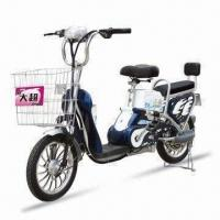 China Electric Bike with Pedal System and 100kg Maximum Loading Capacity on sale