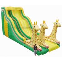 Buy cheap Cheer Amusement Inflatable Giraffe Slide Amusement Equipment Supply from wholesalers