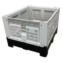Buy cheap Cunstomzied Color Collapsible Plastic Pallet Containers 700L Capacity 43kg Weight from wholesalers