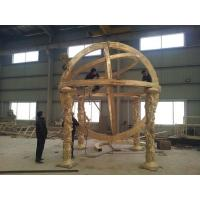 Wholesale Outdoor copper abstract globe sculpture from china suppliers