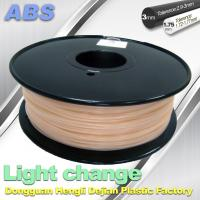 Wholesale ABS Light Change Color Changing Filament Stable In Performance from china suppliers