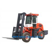 Buy cheap 4x4 Driver All Terrain Forklift YUNNEI 4102 Engine For Urban Construction Sites from wholesalers