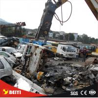 Buy cheap Excavator Use Construction Equitment Hydraulic Pulverizer scrap steel sheet  Demolition Shear from wholesalers
