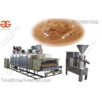 Buy cheap High quality Sesame Tahini production line for sale sesame butter making machine from wholesalers