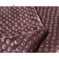 Buy cheap Knitted Polyester Fleece Fabric For Curtain / Hometextile Embossed Fleece Fabric from wholesalers