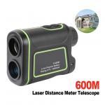 Buy cheap 600m Handheld Monocular metre Laser Rangefinder Distance Meter hunting Telescope trena laser range finder measure outdoo from wholesalers