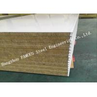 Buy cheap High Density Sound Insulation Rock Wool Sandwich Panels Fire Proof Wall Panel from wholesalers