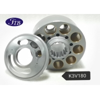 Buy cheap K3V180 Hydraulic Pump Parts Cylinder Block &Plate Valve For R335-7/R320-7/R370 Excavator from wholesalers