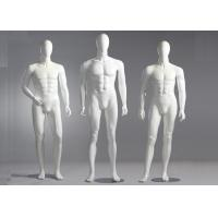 Buy cheap Fiberglass Male Standing / Seating Full Body Mannequin For Clothes Shop from wholesalers