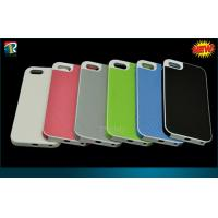 Buy cheap Soft TPU Iphone 5C Protective Cases Colorful  Elastic Leather Sticker with Diamond Pattern from wholesalers