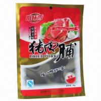 Buy cheap Aluminum Foil Bag for dried meat, good barrier, moisture-proof, extended shelf life with tear notch  from wholesalers