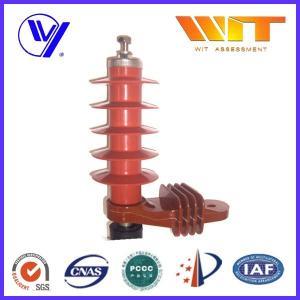 5KA Color Customized Polymer Surge Arrester Without Gap , 54KV Rated Voltage Manufactures