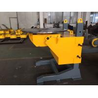 Buy cheap Gear Tilt Pipe Welding Positioners 1200mm Table Diameter Rolling Speed Adjusted by VFD from wholesalers