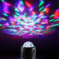 2016 DISCO Mini Portable Wireless Bluetooth Speaker  LED Light Ball Party Stage Light Support LINT-IN Bluetooth hands- Manufactures