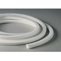 Buy cheap White Lattice Braided PTFE Packing , PTFE Packing With Oil Or Without Oil from wholesalers