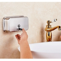 Buy cheap Wall Mounted 304 Stainless Steel Automatic Touchless Soap Dispenser from wholesalers