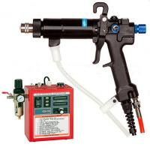 China HONGDA HDA-100 Manual electrostatic  spray paint gun ,coating equipment china manufacture/ www.hdaspraygun.com on sale