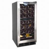 Buy cheap 32 bottle single-zone compressor cooling wine cooler/cellar, built-in or free-standing from wholesalers