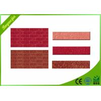 Buy cheap Durable multicolor flexible wall tiles for exterior decoration acid-resistance from wholesalers