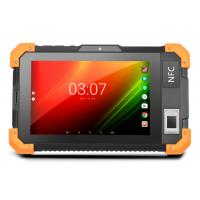 Buy cheap Industrial 8inch NFC Fingerprint Scanner Rugged Android Tablet PC With RFID Reader from wholesalers