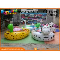 Buy cheap Cartoon Shape Animal Motored Inflatable Boat Toys , Adult Electric Bumper Boat from wholesalers