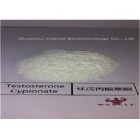 Buy cheap Effective Strongest Testosterone Steroid  White Powder Testosterone Cypionate CAS 58-20-8 from wholesalers
