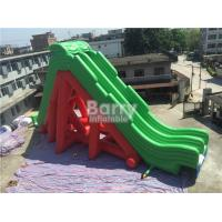 Buy cheap Customized PVC Double Lanes Giant Inflatable Water Slide For Aqua Park from wholesalers
