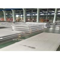Buy cheap 2B Surface Super Duplex Stainless Steel Plate 2205 2507 Cutting Customized product