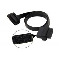 Buy cheap OBD Extension Cable / OBD2 USB Cable Right Angle 16 PIN Male With Female Connector from wholesalers