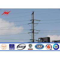 Buy cheap ASTM A572 GR50 15m Steel Tubular Pole For Power Distribution Line Project from wholesalers