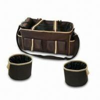 Buy cheap Pet Travel Bag Set, Ideal for Storing Pets Needs while Travelling, Measures 19 x product