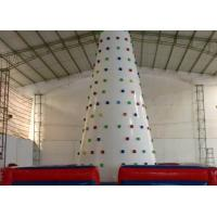 Buy cheap Huge 0.55mmPVC Tarpaulin Inflatable Sports Games Inflatable Climbing Wall from wholesalers