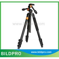 Buy cheap BILDPRO Professional Black Aluminum Tripod Photo Stand Tourism Accessories For Nikon Canon Cameras from wholesalers