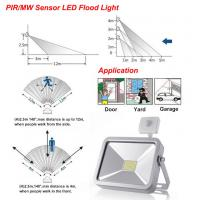Cheap LED Floodlight With PIR Motion Sensor Security Garden Outdoor application Manufactures