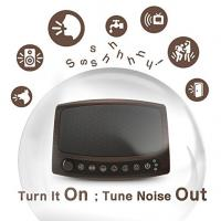 Buy cheap 2A Sleep Electric White Noise Machine With 6 Nature Sounds And Timer For Relaxation from wholesalers