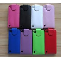 Buy cheap ipod touch 5 itouch 5 flip leather case cover piel capa funda hulle coque Custodia from wholesalers