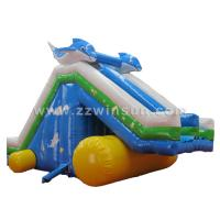 Buy cheap kids and adults cheap active hippo inflatable big water slides for sale from wholesalers