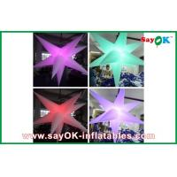 Buy cheap Purple Hanging Nylon Cloth Led Lighting Decoration Inflatable Flowers from wholesalers