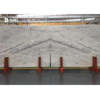 Quality Similar Carrara White Marble Slabs With Grey Veins For Flooring / Wall Cladding for sale